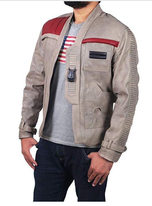 Fin Jacket Star Wars Poe Dameron Leather Jacket