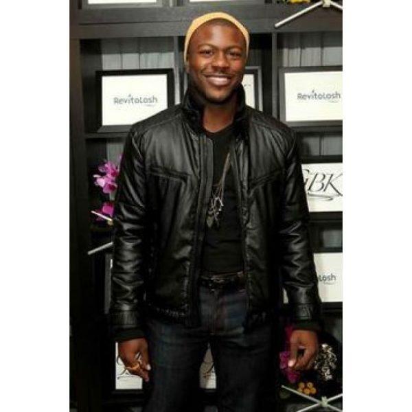 Aldis Hodge What Men Want Movie Leather Jacket