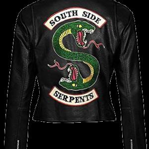 Riverdale Cheryl Blossom Southside Serpents Black Jacket