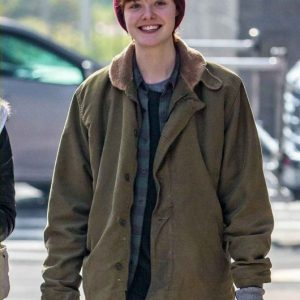 About Ray 2015 Movie Elle Fanning's Cotton Jacket