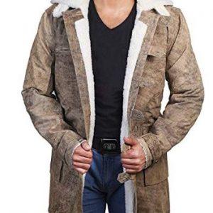 Superhero Leather Jacket Men Leather Jacket American Hero