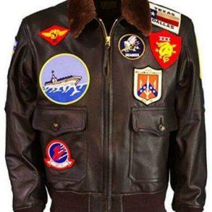 Tom Cruise Aviator Leather Jacket, top gun leather jacket, top gun leather bomber jacket, top gun flight jacket, top gun bomber jacket