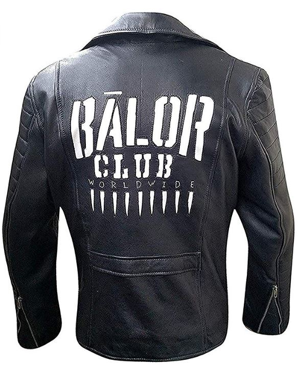 Mens Asymmtercial Zipped WWE Superstar Quilted Black Leather Jacket
