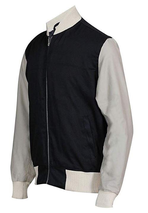 Baby Driver Ansel Elgort (Baby) Varsity Bomber Jacket