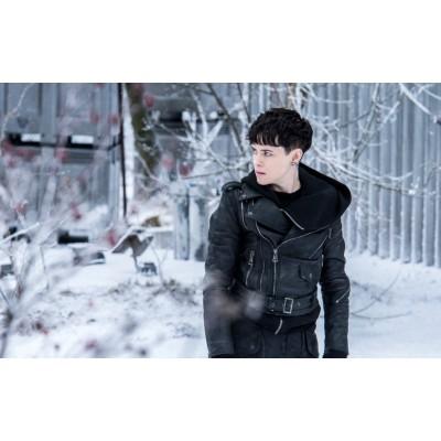 The Crimes Of Grindelwald Black Leather Jacket