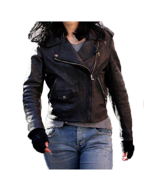 Jessica Jones Jacket, jessica jones leather jacket, jessica jones black leather jacket, jessica jones biker jacket, jessica jones jacket for women
