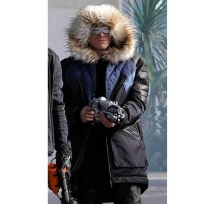 Cold Gun Leo Snart Legends Of Tomorrow Winter Hooded Parka Bomber Jacket