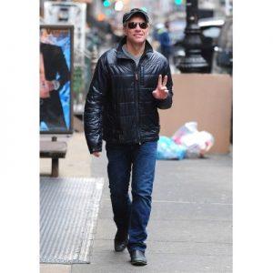 Jon Bon Jovi Bomber Leather Jacket